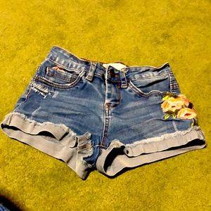 Denim Jean shorts Sz 0